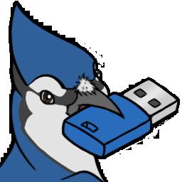 Blue Jay Usb Icon By Darkadobe On Deviantart