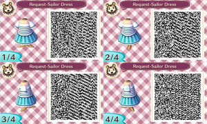 ACNL- Sailor Dress (Request)