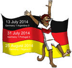 ...and at the end the Germans always win