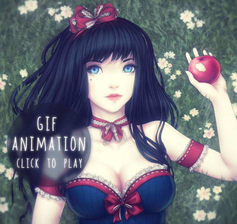 Snow White - GIF animation - CLICK TO PLAY