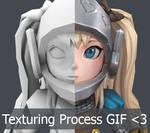 Alice Texturing Process