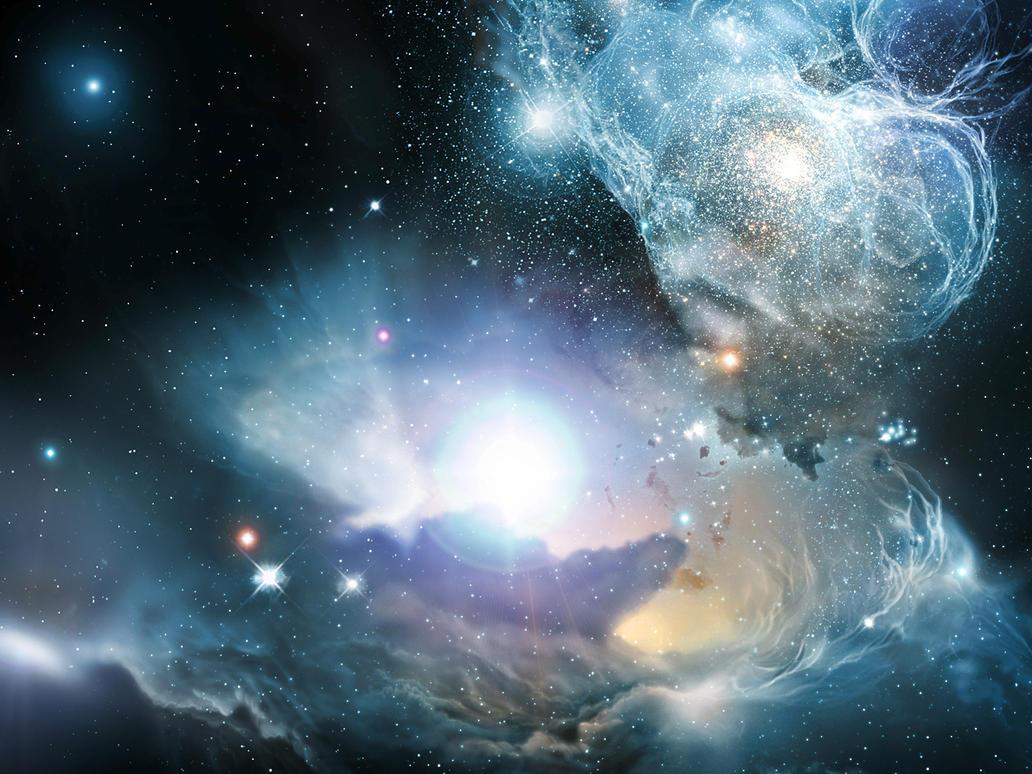 how galaxies was created - HD