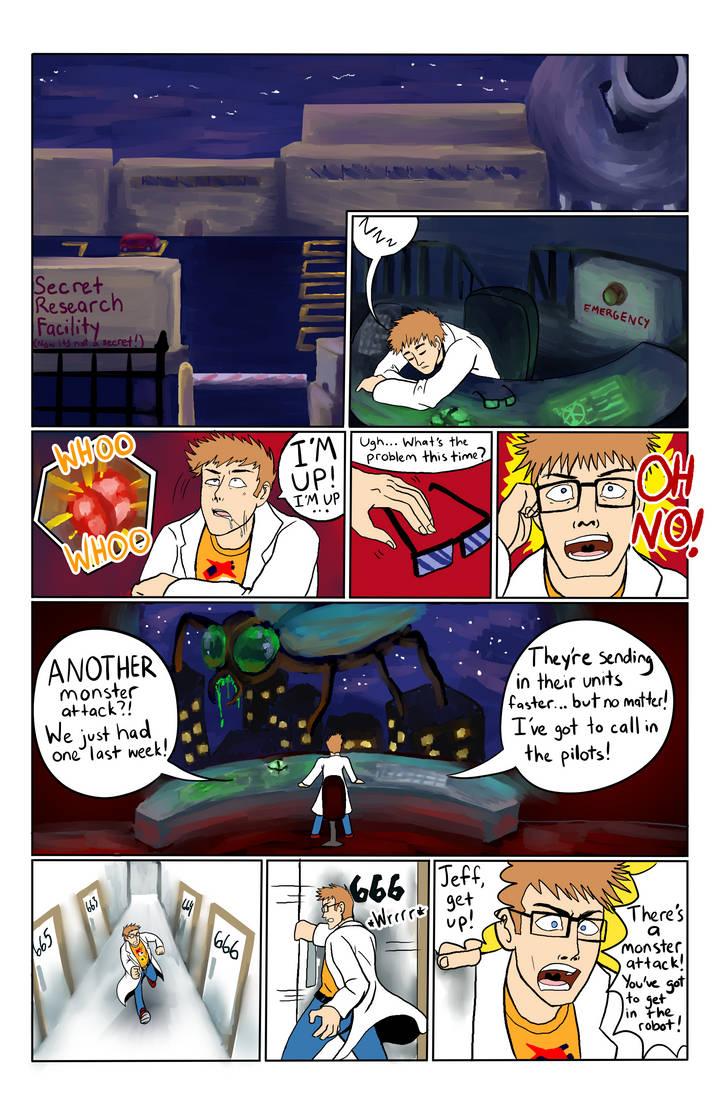 Mecha comic (Download it pls)