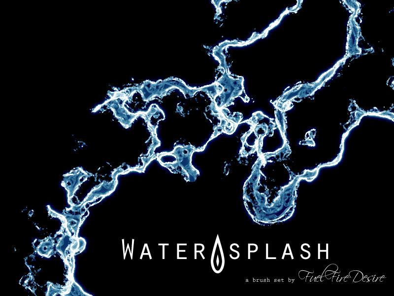 Water Splash Brushes