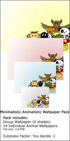Minimalistic Animalistic Pack by D4Nart