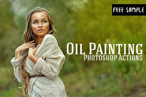 Free Oil Painting Photoshop Actions by creativewhoa
