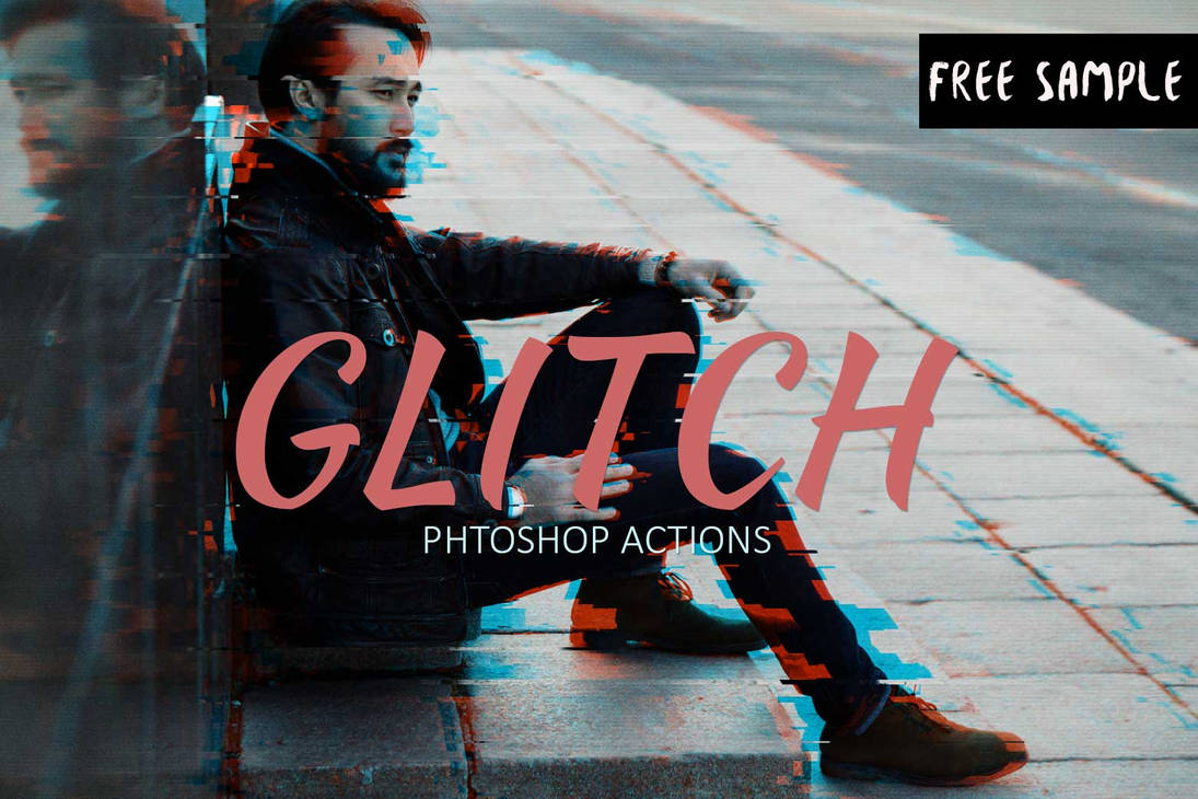 Free Glitch Photoshop Action by creativewhoa on DeviantArt