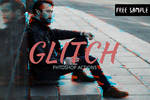 Free Glitch Photoshop Action by creativewhoa