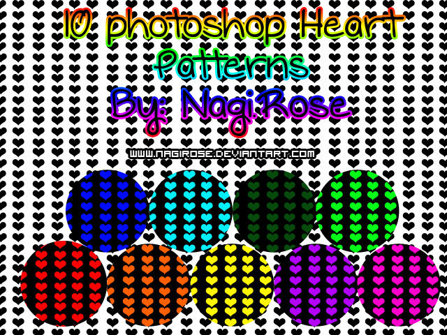 Playful Hearts Patterns By Mysticemma On Deviantart - Wallpaperzen org