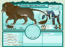 Domitius - Ice Empire - Gladiator by Wildfire-Tama