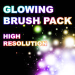 Glowing Brush