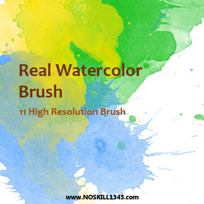 Watercolor - Photoshop Brushes