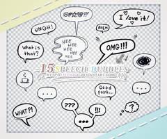 Speech Bubbles PNGS (1)