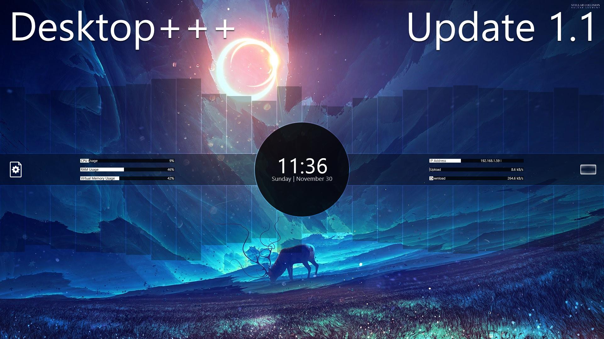 Desktop+++ v1.1.2 by Fiftyniner
