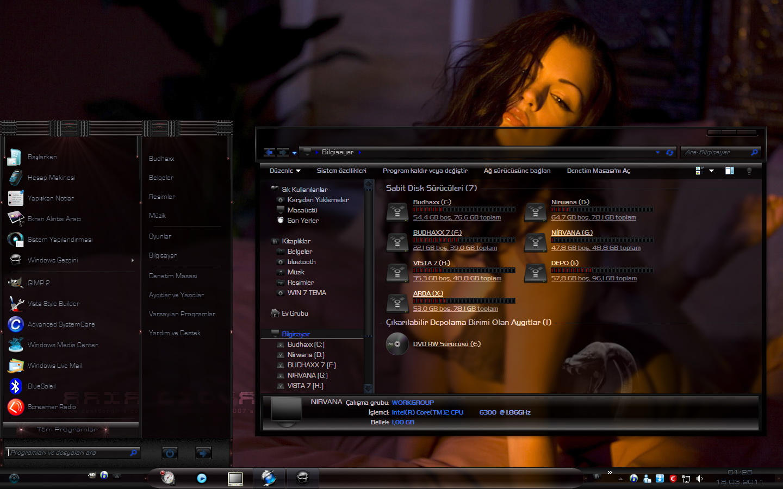 30 awesome windows 7 desktop themes.