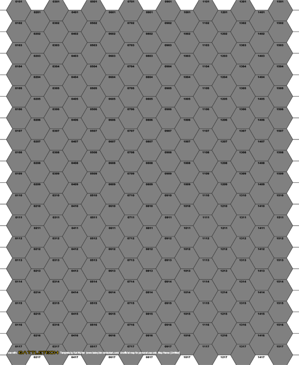 Hex Map Template