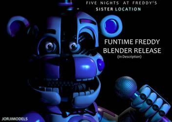 Funtime Freddy Blender Release by jorjimodels