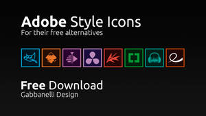 Adobe Style Icons (For their free alternatives)