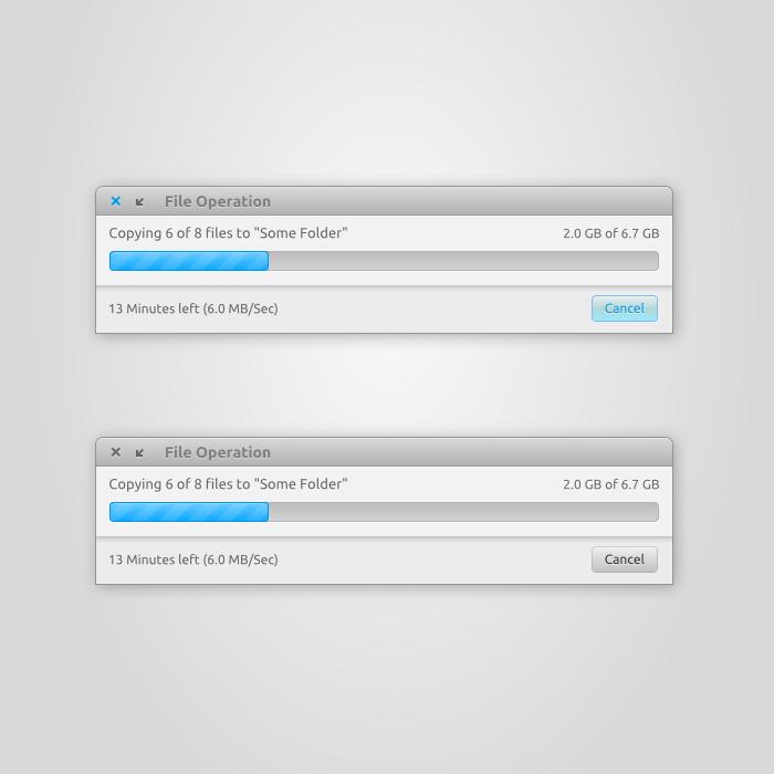 File Operation Window