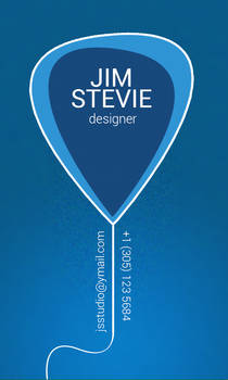 Web/Graphics Designer Business Card