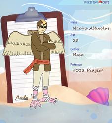 Pokemon Cove - Macha Altivolus