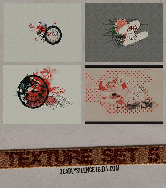 Texture Set 5 by deadlysilence16