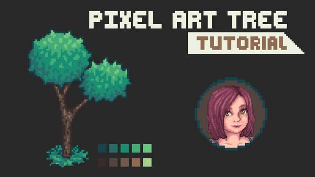 Pixel Art Tree Tutorial 2021