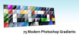 75 Modern Photoshop Gradients