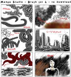 manga studio 3d materials download