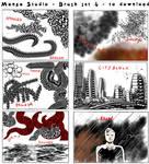 Free Manga Studio Custom Brushes - set 4