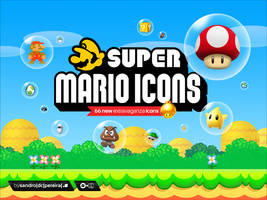 Super Mario Icons by sandrodcpereira