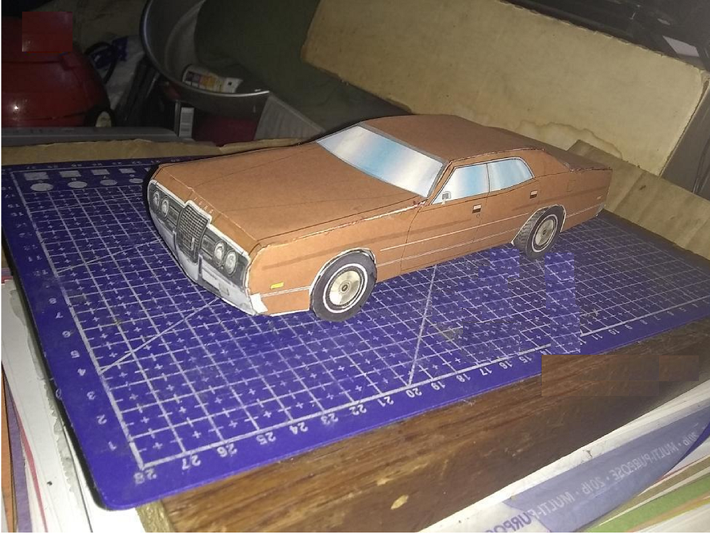71 Ford Galaxie by blake7who