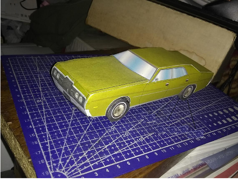 72 Ford Galaxie by blake7who