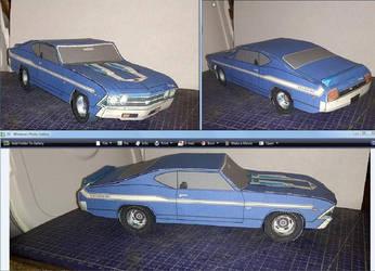 69 Chevelle Yenko model and Instructions