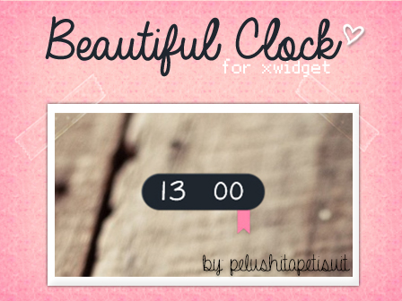 Beautiful Clock by PelushitaPetisuit