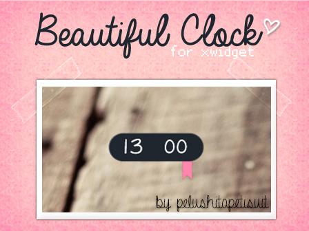 Beautiful Clock by PelushitaPetisuit