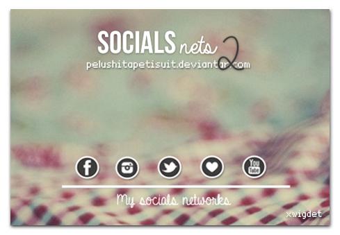 Socials Nets 2 by PelushitaPetisuit