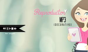 Reproductor Mp3 (decorativo)