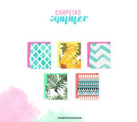 Summer folders (Pelushitatutos) by PelushitaPetisuit