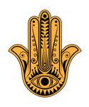 Hamsa Hand vector file by cartonus