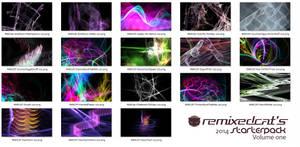 Remixedcat's 2014StarterPackVol1 by remixedcat