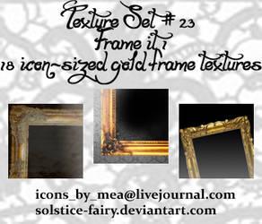 Texture Set 23 - Frame it 1