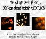 Texture Set 39 - Bokeh by solstice-fairy
