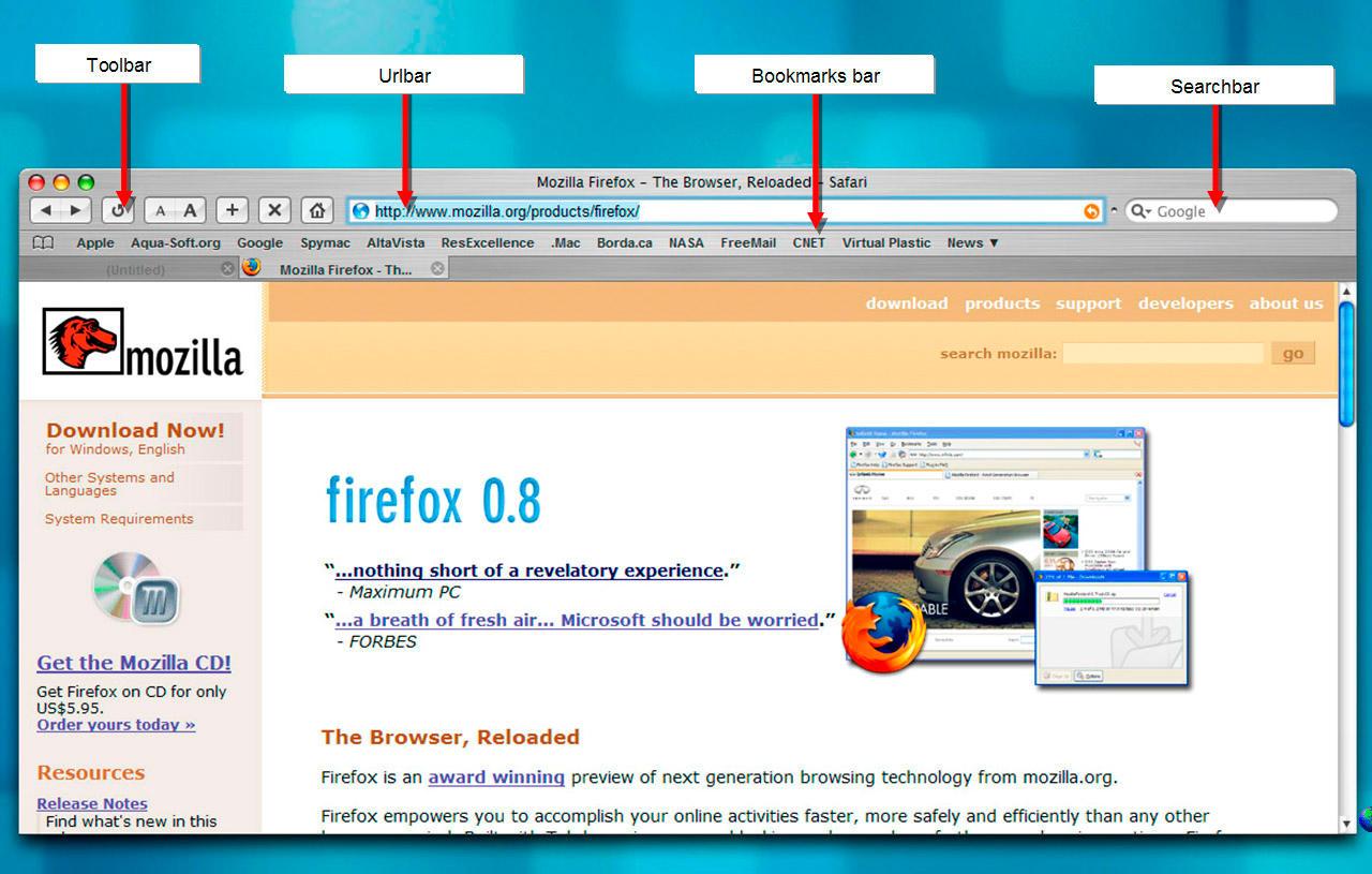 Firefox Safari theme by aquarius2003