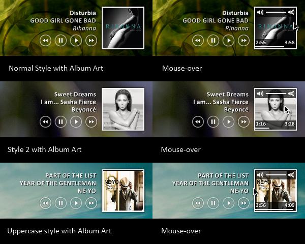 iTunes Player 2 Right Align by maxvanijsselmuiden