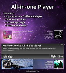 All-in-one Player by maxvanijsselmuiden