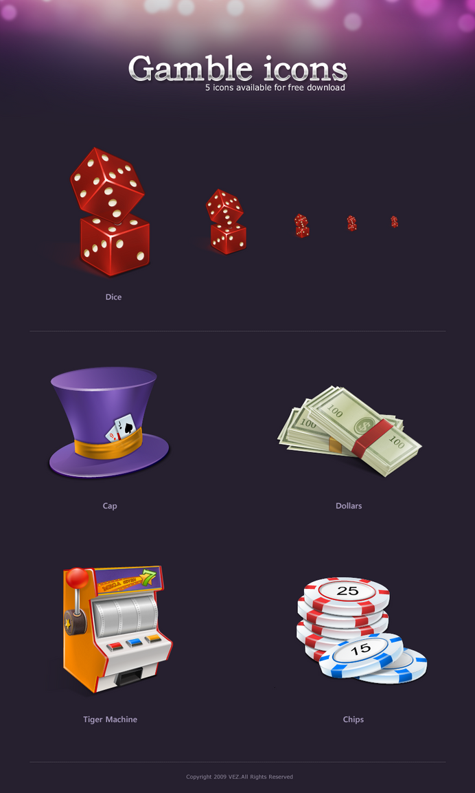 Gamble icons by vezok