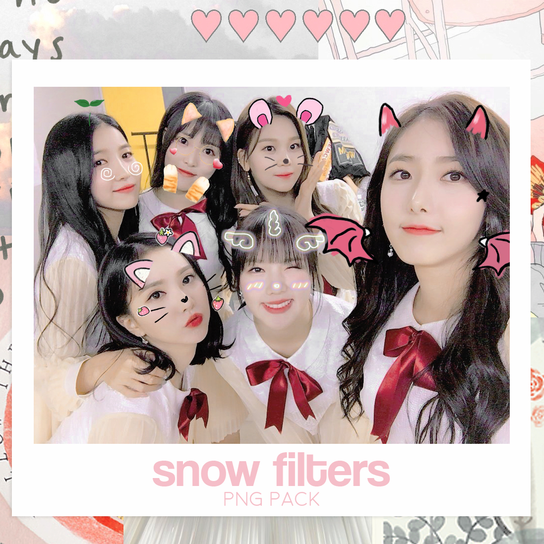 Snow Filters 02 Png Pack By Dreamysunflower9 On Deviantart