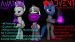 [DL SFM\GMOD] Avatar and Psi-Pony Armor (XCOM 2)