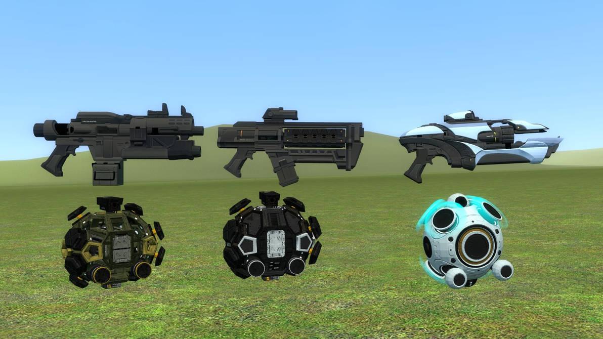 DL SFM\GMOD] Shen's Last Gift DLC Weapons by falloutshararam on
